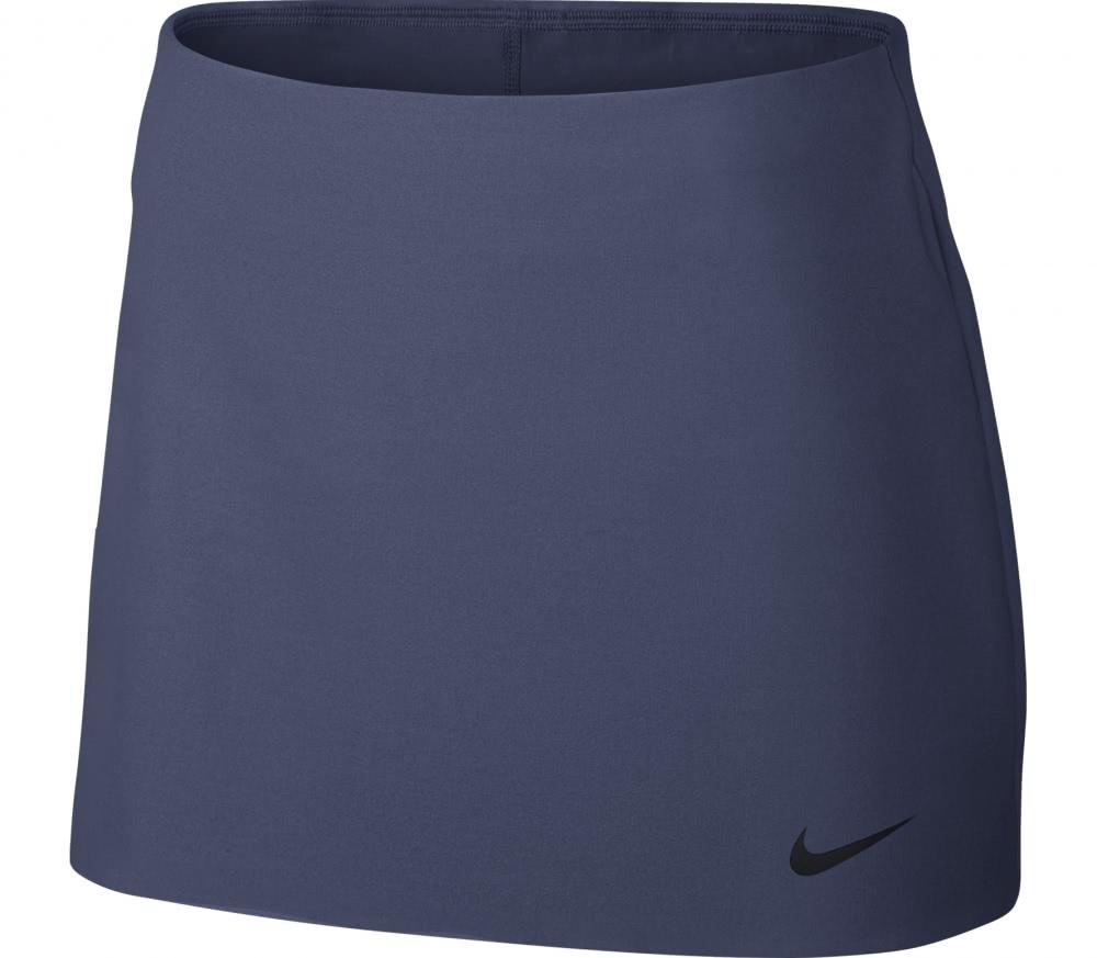nike court power spin damen tennisshirt dunkelblau. Black Bedroom Furniture Sets. Home Design Ideas