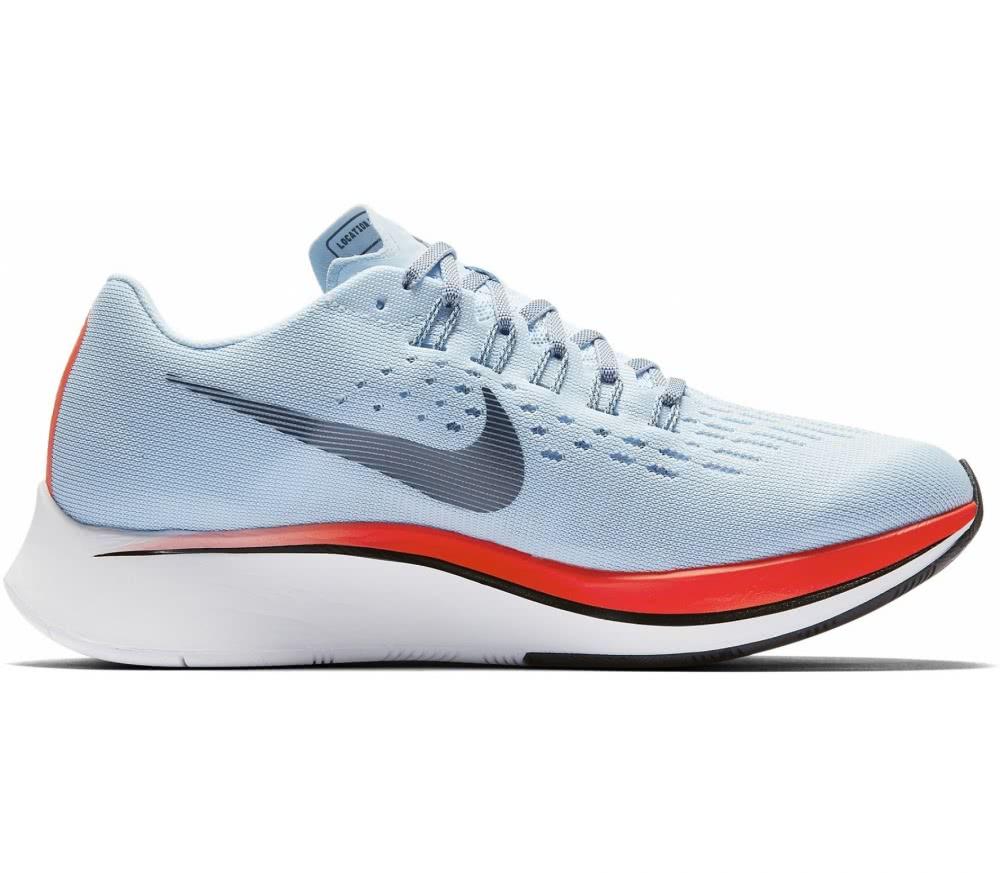 Nike - Zoom Fly Donna scarpe da corsa (azzurro/arancia)