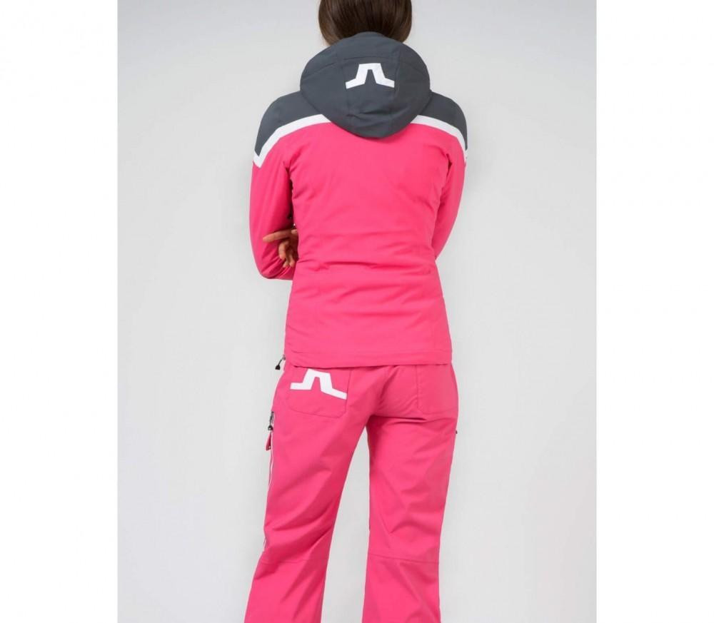 J.Lindeberg - Prindle GoreTex 2 strati giacca da sci da donna (rosa/
