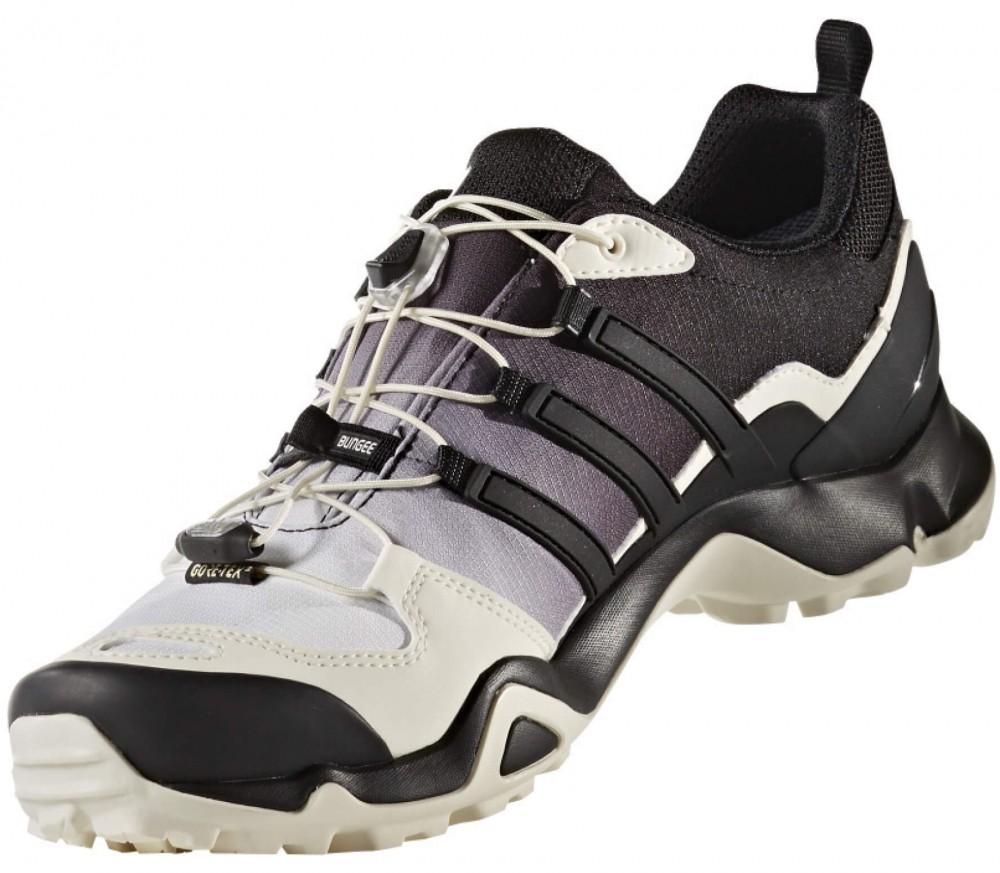 Adidas - Terrex Swift R GTX Uomo scarpone da trekking (nero/bianco)