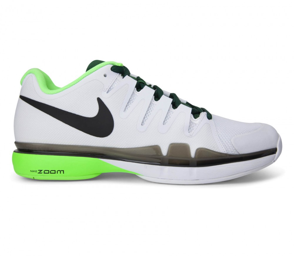 best service 0bb31 14c28 Nike - Roger Federer Air Zoom Vapor 9.5 Tour Uomo Scarpa da tennis (bianco