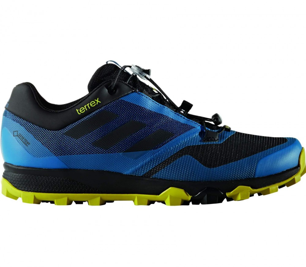 Adidas - Terrex Trailmaker GTX Uomo Trail Running Shoe (blu/nero)
