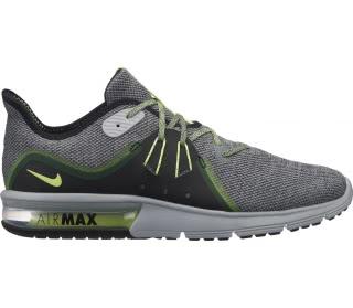 Nike - Air Max Sequent 3 Uomo scarpe da corsa (grigio/verde)