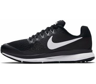 Nike - Zoom Pegasus 34 Bambino scarpe da corsa (nero/grigio)