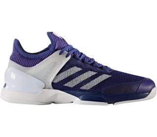 meet b12dc 08fc6 adidas Uomo Adizero Ubersonic 2 Scarpe Da Tennis Rosso Bianco Sport  Traspiranti